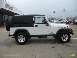 2006 jeep wrangler rubicon unlimited for sale 2006 jeep wrangler unlimited rubicon 4x4 in white photo 8