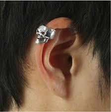 earring men skull ear cuff for men ear earring buy skull earring men