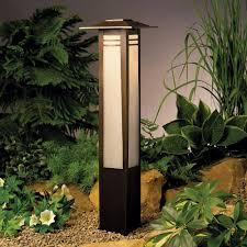 zen garden bollard path light bollard lighting with far eastern