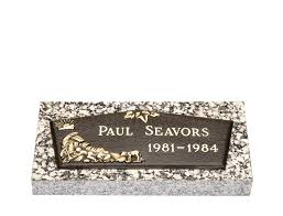 baby bronze cemetery grave marker lovemarkers