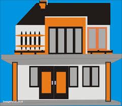Desain Rumah Corel   100 contoh denah desain rumah coreldraw paling keren terbaru