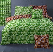 Minecraft Bed Linen - duvet covers u0026 sets minecraft duvet pixels minecraft bedding