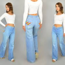 Flared High Waisted Jeans High Waisted 70 U0027s Flare Jeans Jeans To