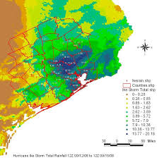Rainfall Totals Map Index Of Image Hgx Projects Ike08 Rainfall