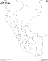 Blank Map Of World Political by Blank Map Of Peru Peru Outline Map