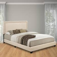 pulaski furniture cream queen upholstered bed ds a123 290 104