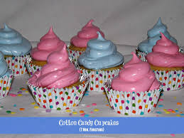foodthoughtsofachefwannabe cotton candy cupcakes no fail 7 min