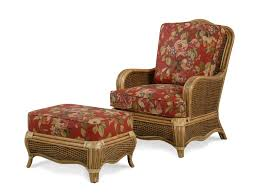 Braxton Culler Outdoor Furniture by Braxton Culler Shorewood Tropical Rattan Chair And Ottoman Set