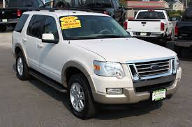2009 Ford Explorer Used 2009 Ford Explorer Eddie Bauer 4 0l V6 4wd W 3rd Row Low