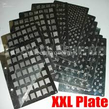 nail art xl xxl stamp stamping plate a to k image plate french