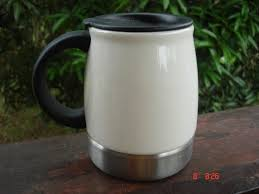 Desk Mug A Cup A Day 2007 Starbucks Urban Desk Stainless Steel U0026 Ceramic Mug