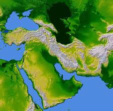 The Middle East Map by Asia Middle East Largest