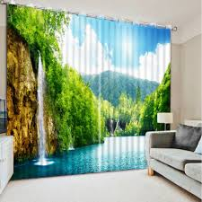 Livingroom Windows by Living Room 3d Curtains Designs For Windows
