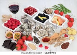 diet detox super food selection heart stock photo 257581570