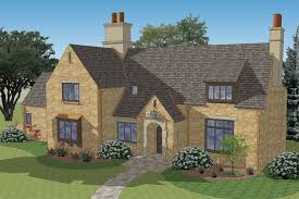 Cotswold Cottage House Plans by New South Classics Campden Cottage