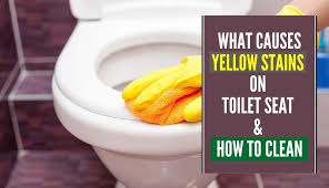 how to clean yellowed white doors what causes yellow stains on toilet seat how to clean