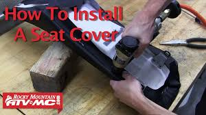 Best Staple Size For Upholstery Motorcycle Seat Cover Install Youtube