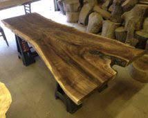 Slab Wood Table by Best 25 Wood Slab Dining Table Ideas On Pinterest Live Edge