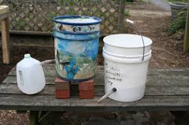 How To Make A Self Watering Planter by Self Watering Containers Converting A 5 Gallon Bucket Into A Mini