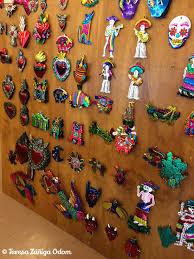 mexican tin ornaments southern señora