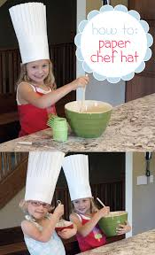 how to make a paper chef hat paper chef hats inline and kitchens