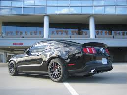All Black 2013 Mustang Those Of You With Black Stangs And Black Wheels Page 3 Ford
