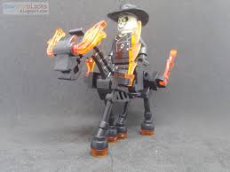 lego rolls royce armored car downtheblocks dtb dtb008 the caretaker ghost rider minifig and