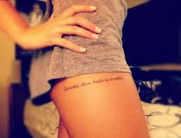 22 quote tattoo placement ideas for women