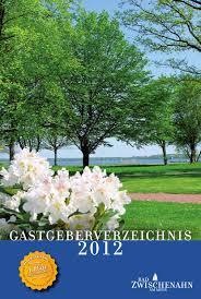 Haus Am Meer Bad Zwischenahn Gastgeberverzeichnis Bad Zwischenahn 2012 By Ostfriesland