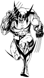how to draw wolverine from marvel u0027s x men superhero team drawing
