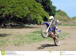 motocross bike videos dirt bike wheelie stock photography image 1353932