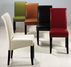 Parson Dining Room Chairs Leather Parson Chairs Apoc By Low Cost Upholstered