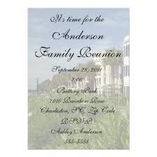 beautiful city rainbow row family reunion 5 7 paper invitation