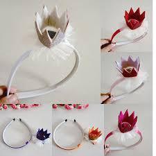 hot selling baby girl princess crown headbands headwear handmade