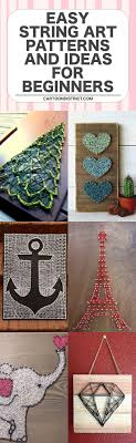pattern ideas 40 easy string art patterns and ideas for beginners