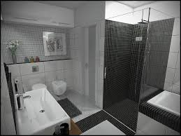 Grey Mosaic Bathroom Bathroom Charming Picture Of Black And White Small Bathroom