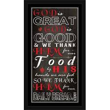 god is great god is good kitchen dinner prayer religious