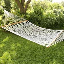 furniture portable white wooden hammock stand plus hammock