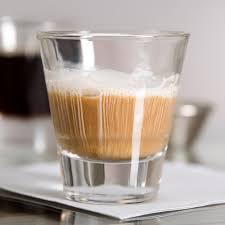 iced espresso macchiato libbey 15733 endeavor 3 7 oz espresso shot glass 12 case