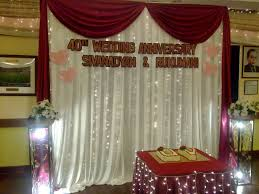 wedding anniversary backdrop event wedding anniversary one stop guide