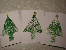 quick and simple christmas cards mixed media art