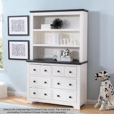 delta children providence bookcase hutch white and textured
