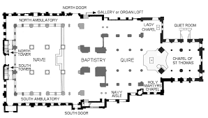Anglican Church Floor Plan by Plan Of Portsmouth Anglican Cathedral