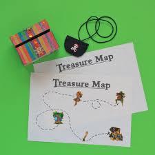 kids craft kit pirate treasure kit make your own maps
