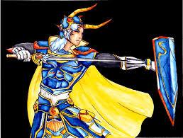 Warrior Of Light Warrior Of Light Ex Mode Colored By Journie On Deviantart