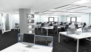 cool office space 3d office design changing your workspace perspective cool and