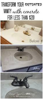 diy bathroom countertop ideas your countertops diy salvaged wood counter cheap and so
