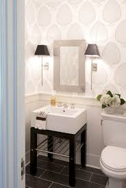 wallpaper bathroom ideas interior design trend wallpaper in the powder room