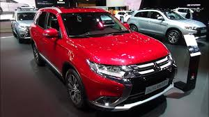 mitsubishi suv 2016 2017 mitsubishi outlander exterior and interior paris auto