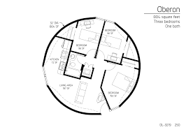 804 square feet three bedrooms one bath i ll huff and i ll puff three bedroom monolithic dome home floor plan designs